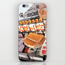 Osaka City, Japan iPhone Skin
