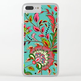 Burst of Energy Clear iPhone Case