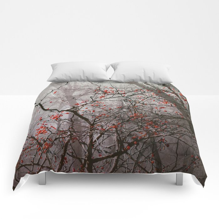 Forest of Red Comforters
