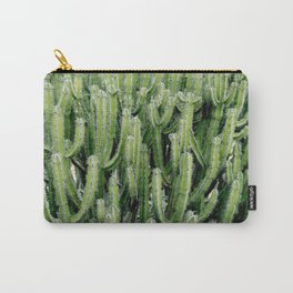 Green Cactus Cacti Plant Carry-All Pouch