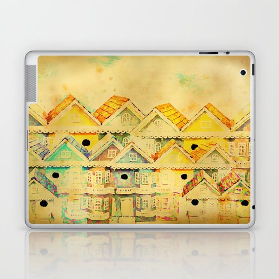 Bird Town 023 Laptop & iPad Skin