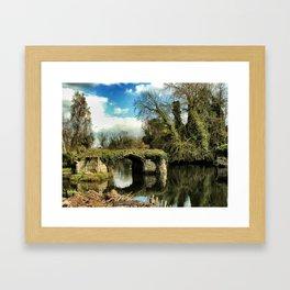 River Also, Warwick, England 2006 Framed Art Print