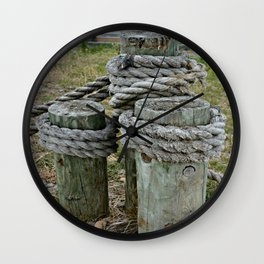 Tightly Secured Wall Clock