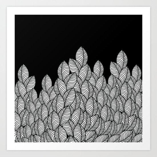 Pattern L Art Print