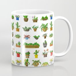 Pixel Plants Coffee Mug
