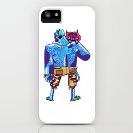 Off to the beach iPhone Case