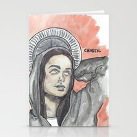 oitnb Stationery Cards featuring Pennsatucky OITNB by Ashley Rowe