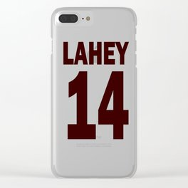 Lahey 14 Clear iPhone Case