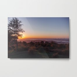 Sunset Over Istanbul #2 Metal Print