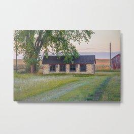 Curious Farmstead, North Dakota 6 Metal Print