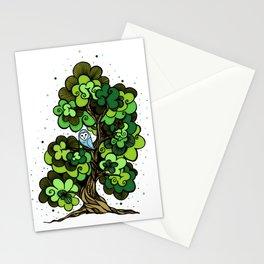 Barn Owl 2 Stationery Cards