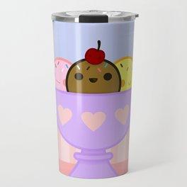 Yummy Kawaii Icecream Travel Mug