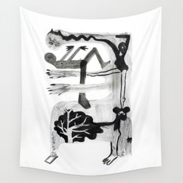 Construction Wall Tapestry