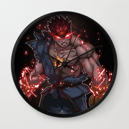 Evil Ryu Wall Clock