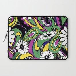60s Daisy Paisley Laptop Sleeve