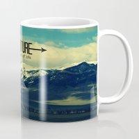 adventure Mugs featuring Adventure by RDelean