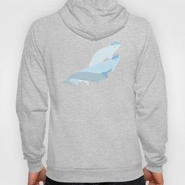 Beluga Whale - Moonstone Hoody