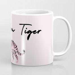 Go Get'em Tiger Inspirational Girly Colorful Slogan Coffee Mug
