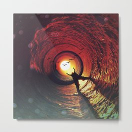 Sun Seeker's Return Metal Print