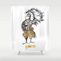 pride Shower Curtains featuring Pride by iglootree