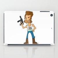 tim burton iPad Cases featuring Jack Burton by frappeboy
