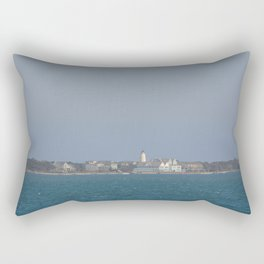 Ocracoke Island from the ferry Rectangular Pillow