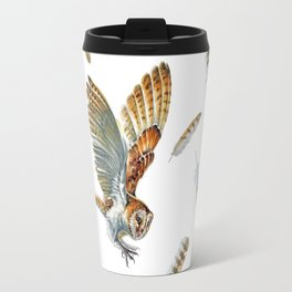 Barn Owl Landing  Travel Mug
