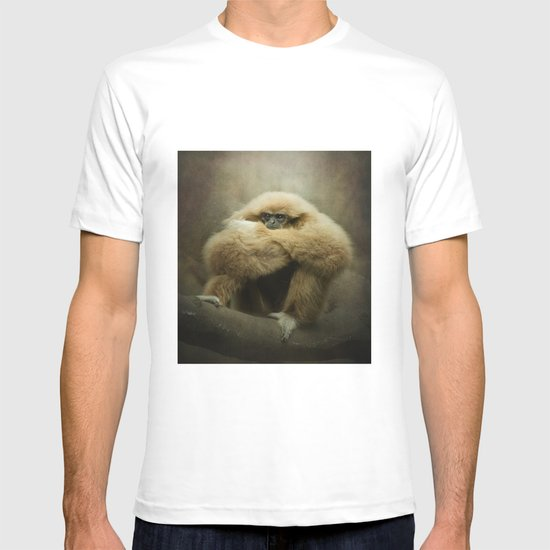 Study of a Gibbon - The Thinker T-shirt