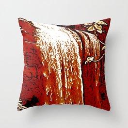 "series waterfall ""Cachoeira Grande"" V Throw Pillow"