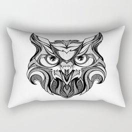 Owl - Drawing Rectangular Pillow