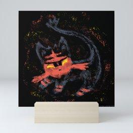 Litten Simba Mini Art Print