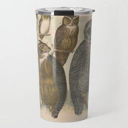 Naturalist Owls Travel Mug