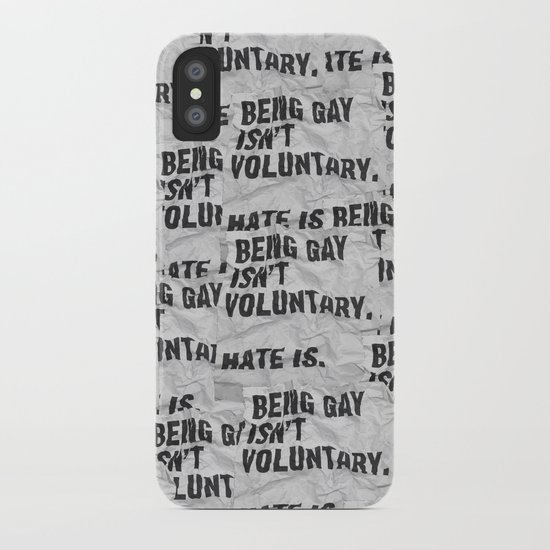 Voluntary iPhone Case