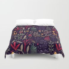 Botanical pattern Duvet Cover