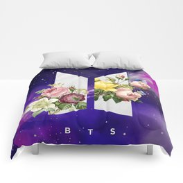 BTS Galaxy Comforters