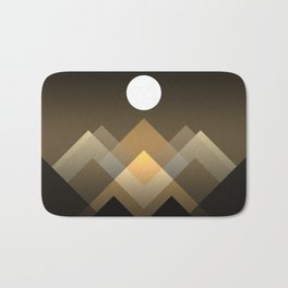 Path between hills Bath Mat
