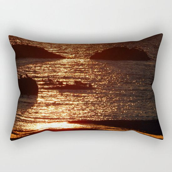 Golden Hour Rectangular Pillow