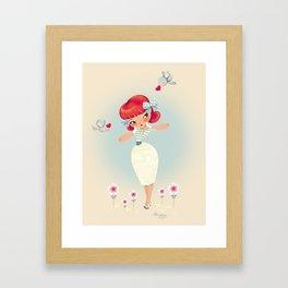 Marie-Laure Framed Art Print