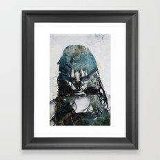 Tousled bird mad girl 2 Framed Art Print