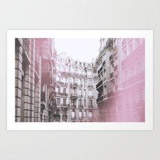 Paris n°10 Art Print