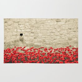 Tower Poppies 01A Rug
