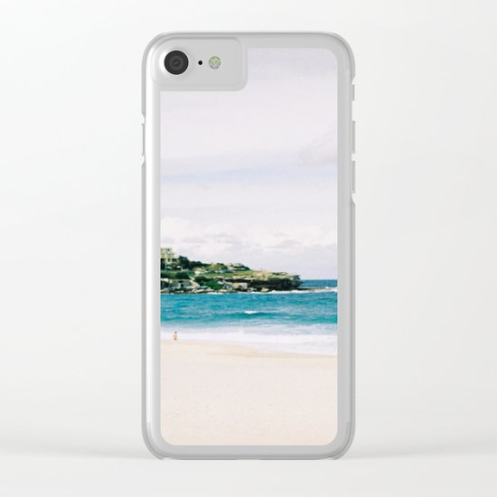 You In The Light & Nothing Else Clear iPhone Case