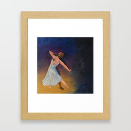 Dancing with Shadows Framed Art Print