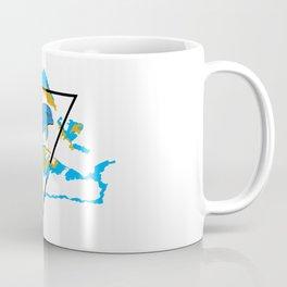 Dolphin in water element Coffee Mug