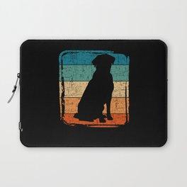 Retro Labrador Retriever Vintage Dog Lover Gift Laptop Sleeve