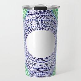 Rainbow Dot Mandala Travel Mug