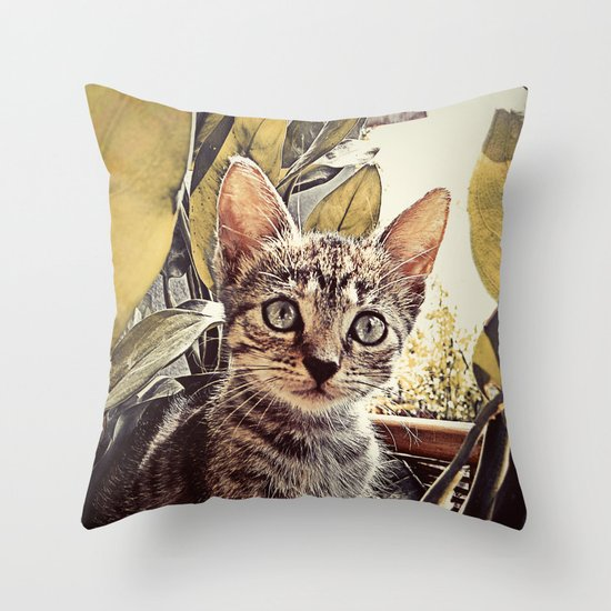 Mouser Throw Pillow