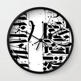 CALLIGRAPHY N°4 ZV Wall Clock