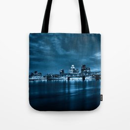 Skyline of Louisville Kentucky Tote Bag