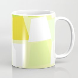 Tiptoe Through the Trapezoids Geometric Abstract Coffee Mug